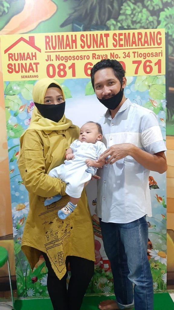 Sunat Ananda Afkar, Sampangan | Rumah Sunat Semarang - Sunat Melayani Segala Usia | 081-6699-761